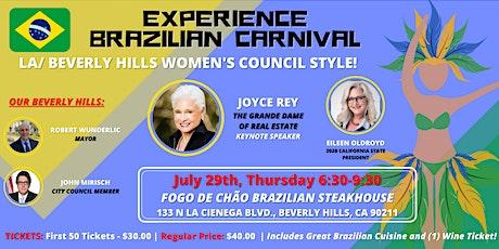Experience Brazil! Taste of LA/Beverly Hills Women tickets