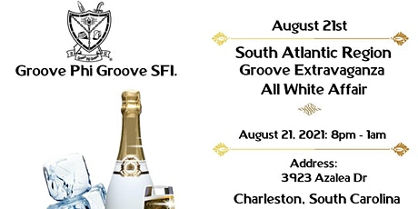 South Atlantic Region Groove Extravaganza - All White Affair tickets