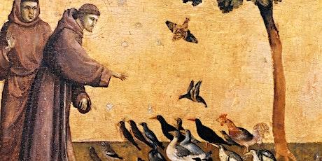 Online lezing: De heilige Franciscus tickets