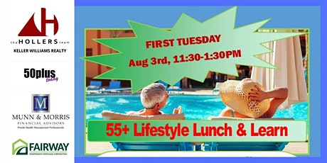 55+ Lifestyle Lunch & Learn tickets