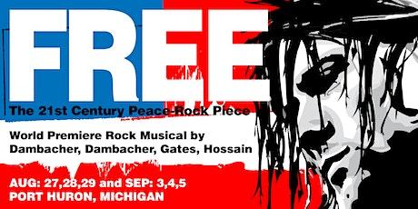 FREE: The 21st Century Peace-Rock Piece tickets