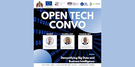 Open Tech Convo: Demystifying Big Data and Business Intelligence tickets