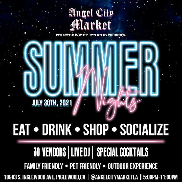 Angel City Market: Summer Nights image