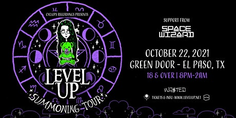El Paso: LEVEL UP - Summoning Tour with Space Wizard [18 & Over] tickets