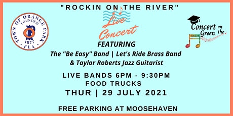 """""""Rockin on the River"""" July 29th Tickets tickets"""