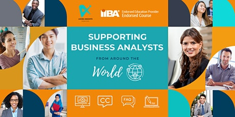Supporting Business Analysts pass the IIBA ECBA, CCBA, or CBAP Exam tickets