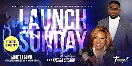 Triumph Church of Houston Official Launch with Musical Guest, Kierra Sheard tickets