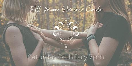 Full Moon Women's Circle July tickets
