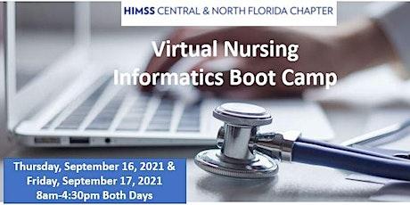 CNFL HIMSS Virtual Nursing Informatics Bootcamp with Dr. Newbold tickets
