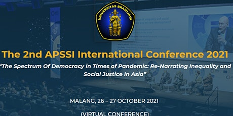 The 2nd APSSI International Conference 2021 tickets