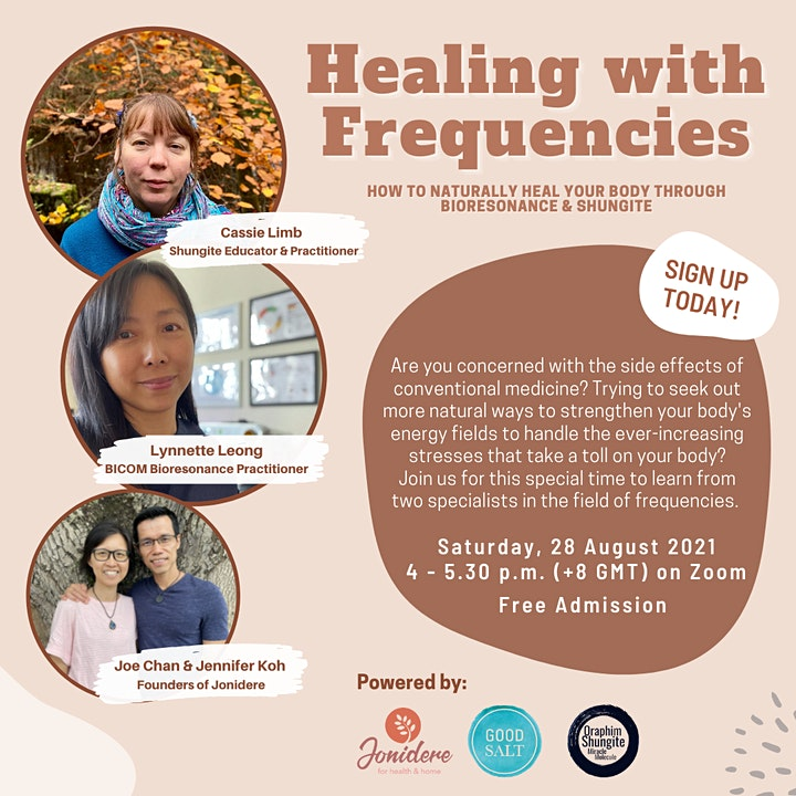 FREE Healing with Frequencies Webinar image