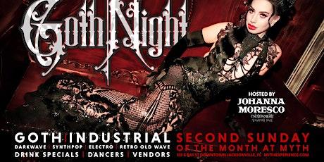 "2nd Sunday Sanctuary Presents ""Goth Night"" at Myth Nightclub | 08.08.21 tickets"