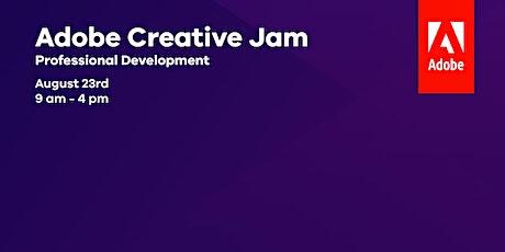 Adobe Creative Jam Teacher PD tickets