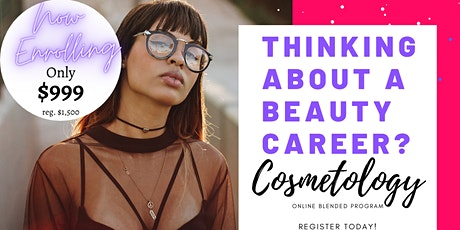 Online Blended Cosmetology Licensure Course boletos
