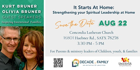 It Starts at Home: A Family Discipleship Workshop tickets