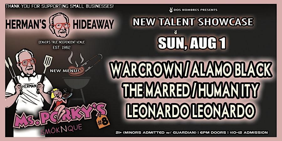 WARCROWN | ALAMO BLACK | THE MARRED | HUMANITY | LEONARDO LEONARDO