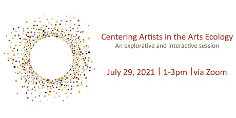 Centering Artists in the Arts Ecology biglietti