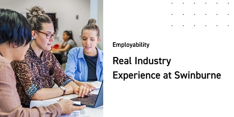 Real Industry Experience at Swinburne tickets