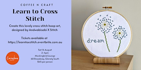 Coffee n Craft - Learn to Cross Stitch tickets