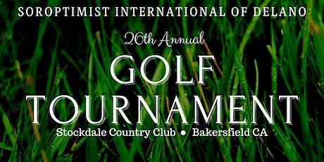 Soroptimist Delano Golf Tournament tickets