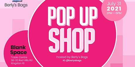 Pop Up Shop Hosted by Berly's Bags tickets