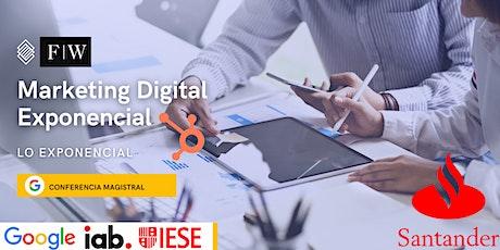 Taller y Conferencia: Marketing Digital A Nivel Exponencial entradas