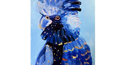 Learn to paint! Blue Cockatoo. tickets