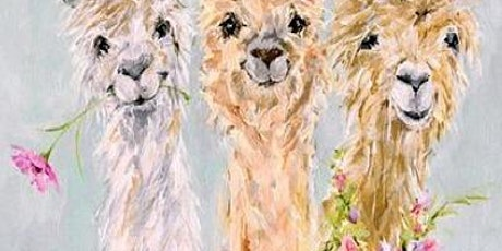 Learn to paint! No Drama Llamas. tickets