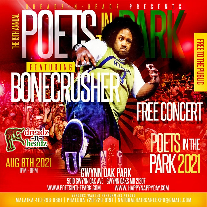 Poets in the  Park 2021 image