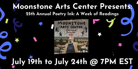 25th Annual Poetry Ink - A Week of Readings tickets
