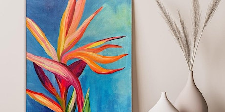 Paint 'n Sip @ Greenview: Birds of Paradise tickets
