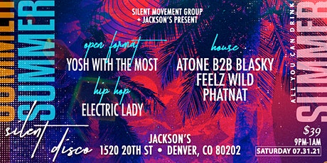 All You Can Drink Summer Silent Disco tickets