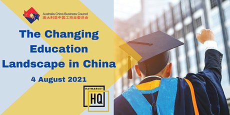 ACBC NSW Webinar: The Changing Education Landscape in China tickets