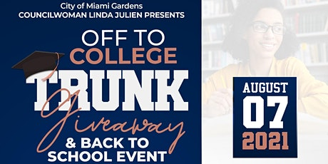 Off to College Trunk Giveaway & Back to School Event tickets