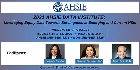 2021 AHSIE Data Institute tickets