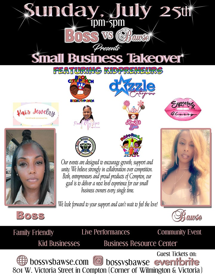 Boss vs Bawse Presents The Small Business Takeover image