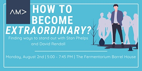 How to Become Extraordinary? tickets