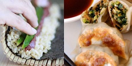JAPANESE FAVOURITES (INTENSIVE): GYOZA + SUSHI tickets