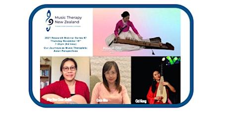 MThNZ Research SIG 2021 Webinar #7 - Asian Perspectives tickets