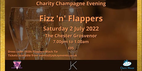 Fizz 'n' Flappers Charity Champagne Night tickets