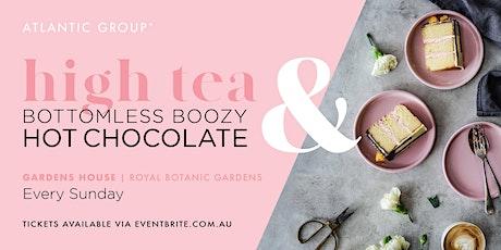 High Tea & Bottomless Boozy Hot Chocolate at Gardens House tickets