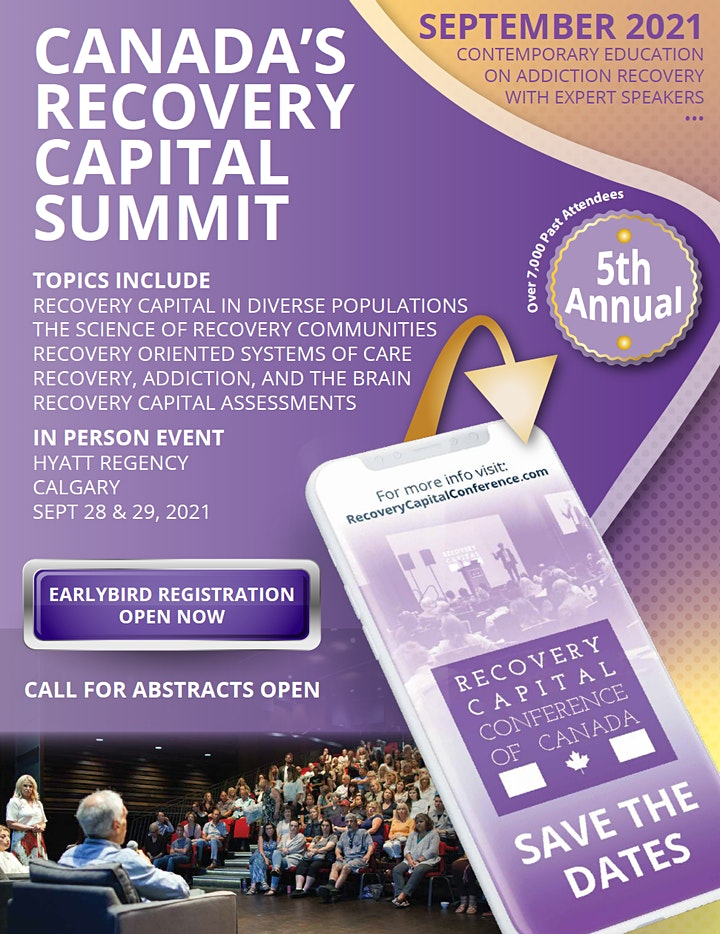 Canada's Recovery Capital Summit image