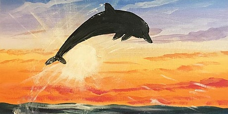 """Painting & Vino - """"Dolphin"""" tickets"""