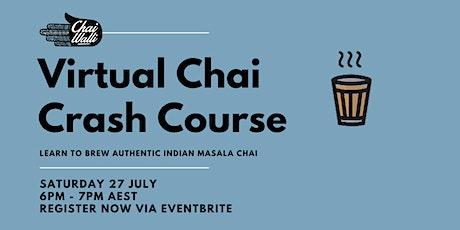 Virtual Chai Brewing Crash Course with Australia's Leading Spice Educator tickets