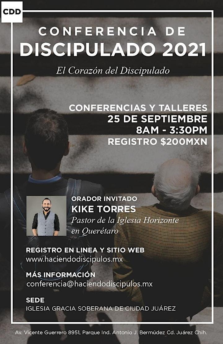 Imagen de Conferencia de Discípulado 2021 - El Corazón del Discipulado