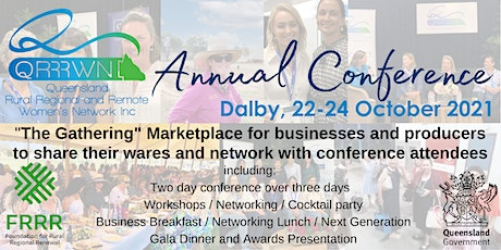 """QRRRWN Annual Conference """"The Gathering"""" Stall Holder tickets"""