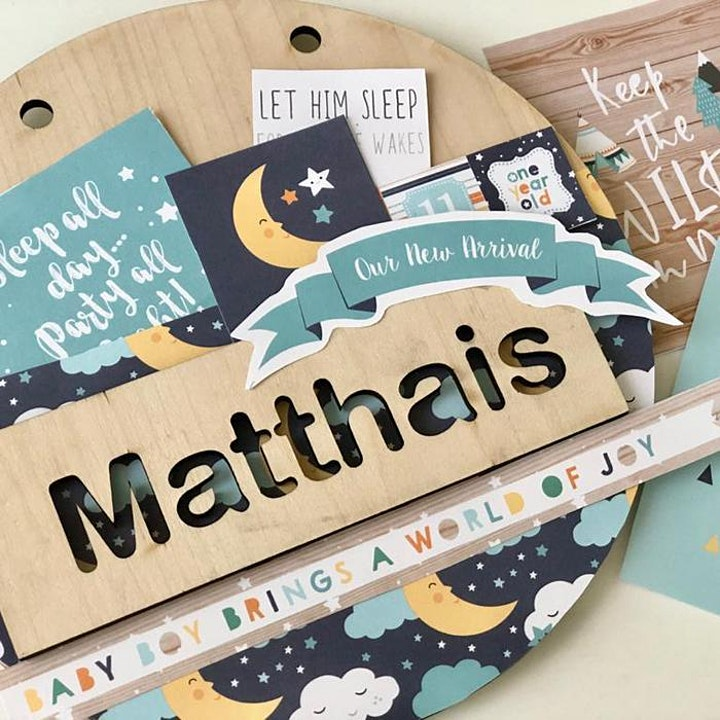 Personalized Door Sign Workshop in Singapore image