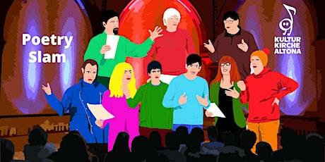 """Poetry Slam """"frei gesprochen?!"""" 09-21 Tickets"""