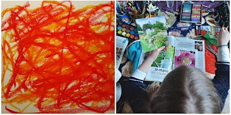 Atelier de journal créatif (enfants) billets