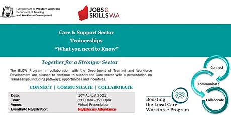 Traineeships in the Care Sector tickets